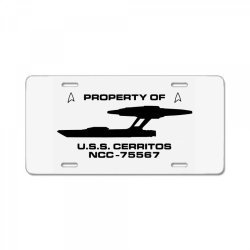star trek  lower decks property of License Plate | Artistshot
