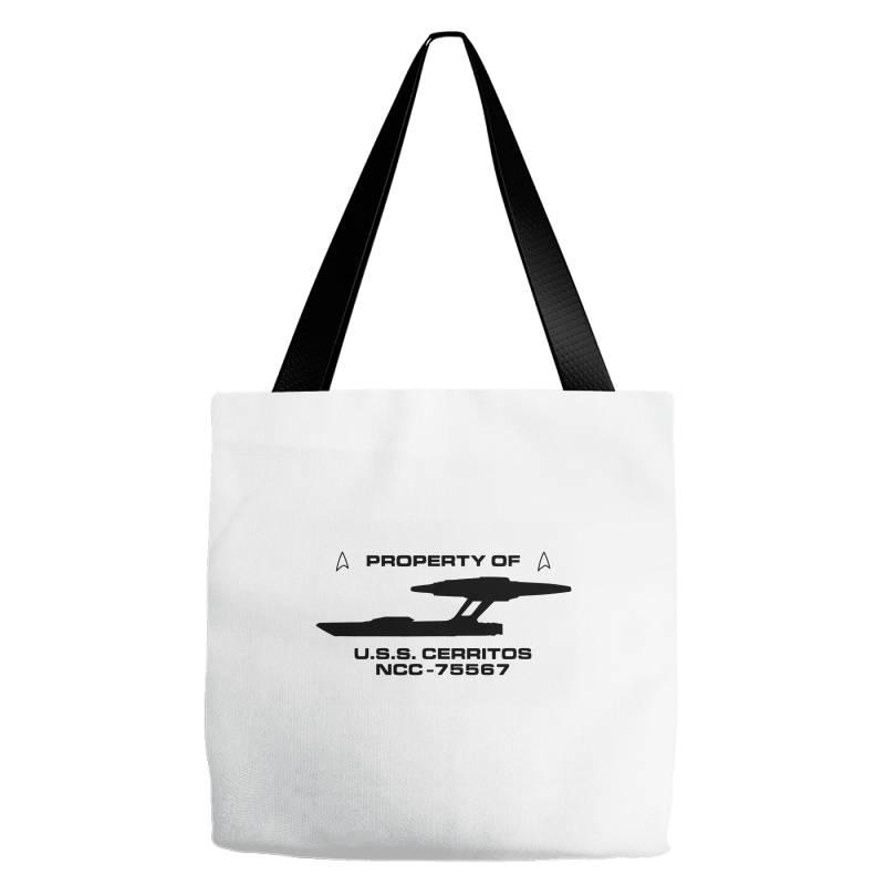 Star Trek  Lower Decks Property Of Tote Bags   Artistshot