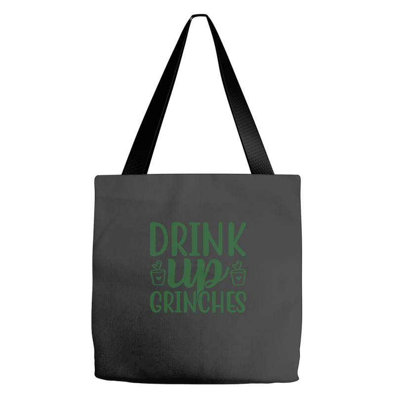 Drink Up Grinches Funny T Shirt Tote Bags | Artistshot