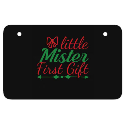 Little Mister First Gift Atv License Plate Designed By Gnuh79