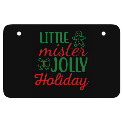 Little Mister Jolly Holiday Atv License Plate Designed By Gnuh79
