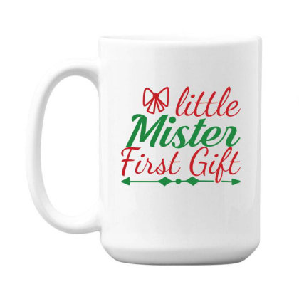 Little Mister First Gift 15 Oz Coffe Mug Designed By Gnuh79