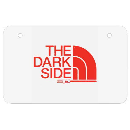 The Dark Side Atv License Plate Designed By Lotus Fashion Realm