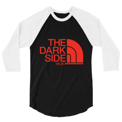 The Dark Side 3/4 Sleeve Shirt Designed By Lotus Fashion Realm