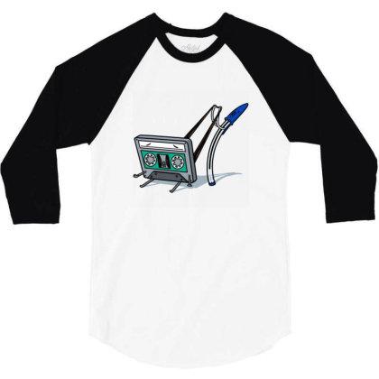 Retro Wedgie! 3/4 Sleeve Shirt Designed By Owen