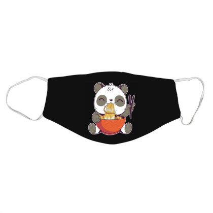 Ramen Panda Face Mask Designed By Owen
