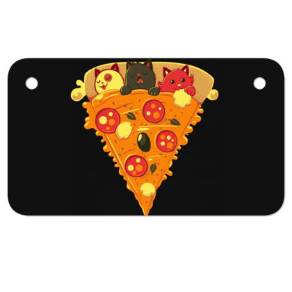 Pizza Cat Motorcycle License Plate Designed By Owen