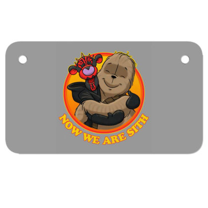 Now We Are Sith Motorcycle License Plate Designed By Lotus Fashion Realm