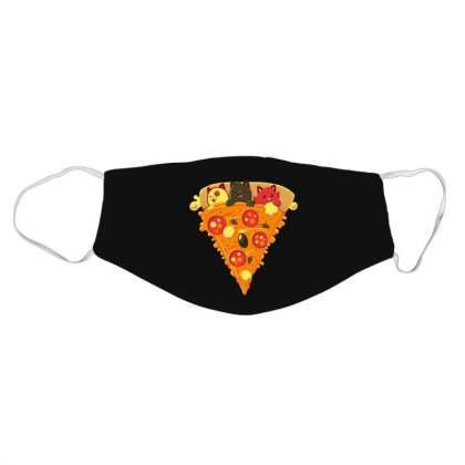 Pizza Cat Face Mask Designed By Owen