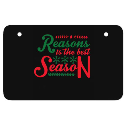 Reasons Is The Best Season Atv License Plate Designed By Gnuh79