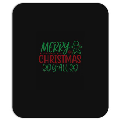 Merry Christmas Yall Mousepad Designed By Gnuh79