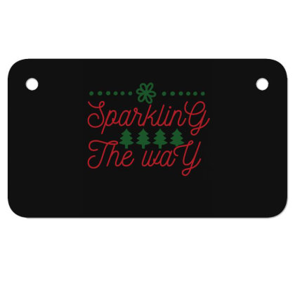 Sparkling The Way Motorcycle License Plate Designed By Gnuh79