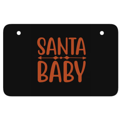 Santa Baby Atv License Plate Designed By Gnuh79