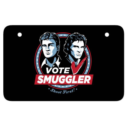 Vote Smuggler Atv License Plate Designed By Lotus Fashion Realm