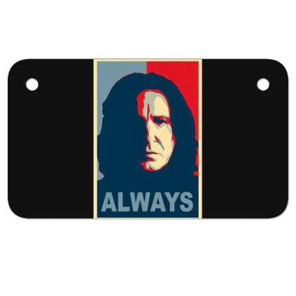 Always Motorcycle License Plate Designed By Owen