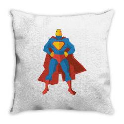 superman Throw Pillow | Artistshot