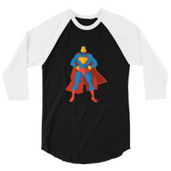 superman 3/4 Sleeve Shirt | Artistshot