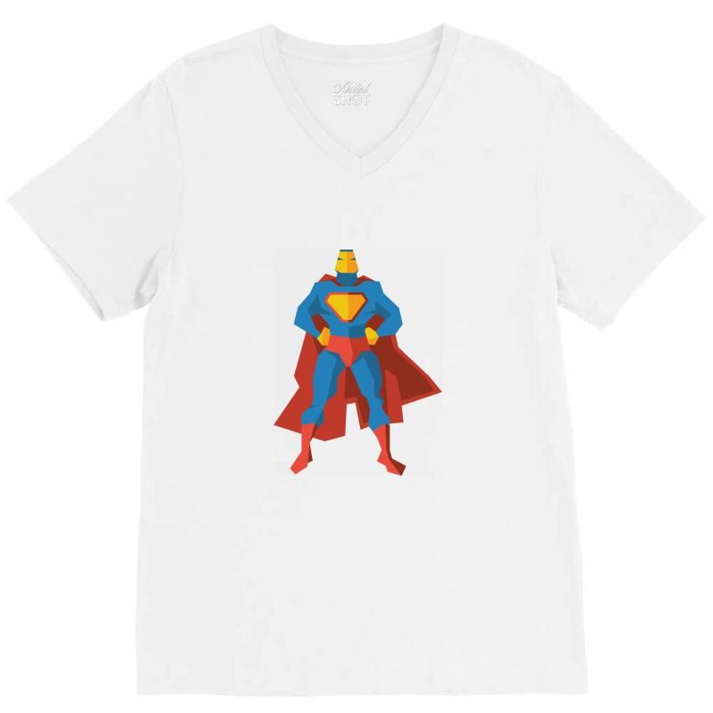 Superman V-neck Tee | Artistshot