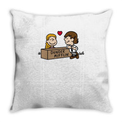 Office Love! Throw Pillow | Artistshot