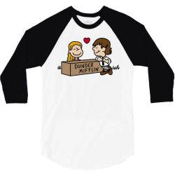 Office Love! 3/4 Sleeve Shirt   Artistshot