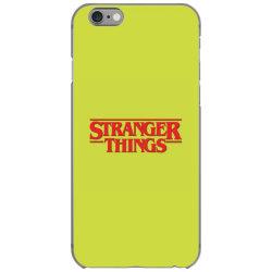 Stranger things iPhone 6/6s Case | Artistshot