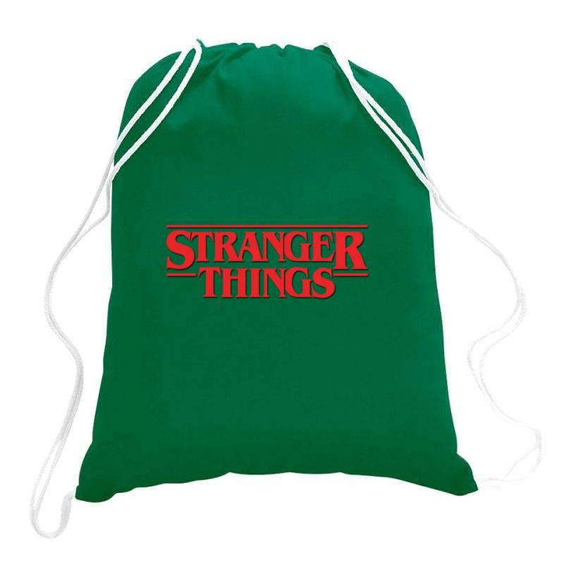 Stranger Things Drawstring Bags | Artistshot