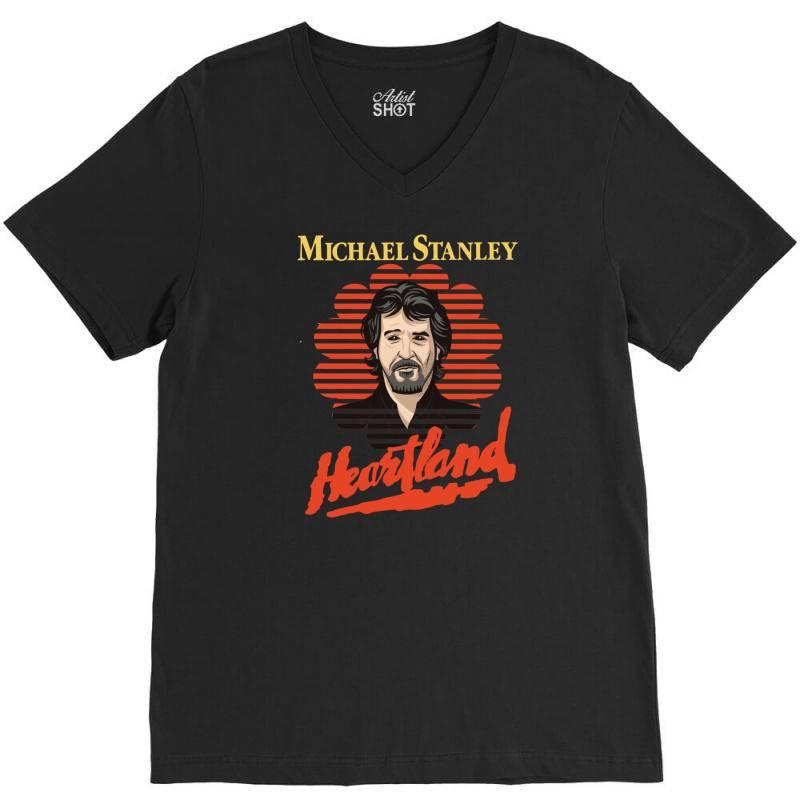 Michael Stanley V-neck Tee   Artistshot
