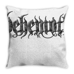 behemoth monster art Throw Pillow   Artistshot