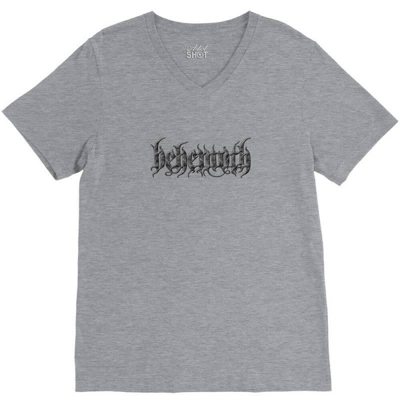 Behemoth Monster Art V-neck Tee | Artistshot