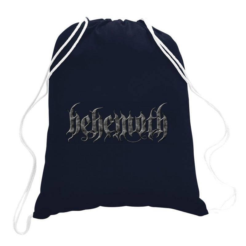 Behemoth Monster Art Drawstring Bags   Artistshot