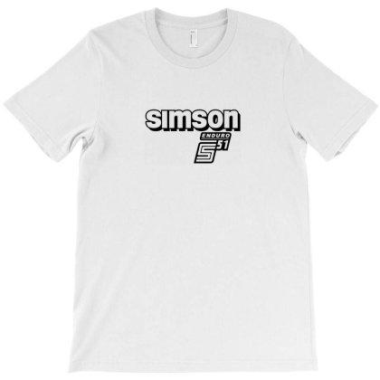 Simson Schwalbe Vespa T-shirt Designed By Willo
