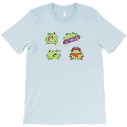 The Dapper Frog Meme T-shirt Designed By Willo