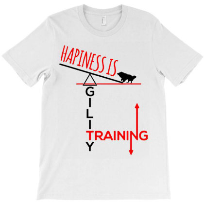 Agility Dog T-shirt Designed By Realme Tees