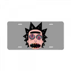 rick fried License Plate   Artistshot