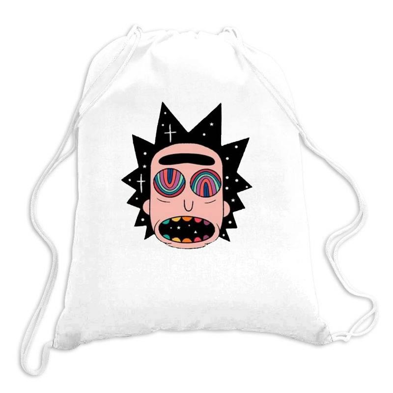 Rick Fried Drawstring Bags   Artistshot