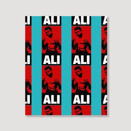 Muhammad Ali Portrait Canvas Print Designed By Tshiart