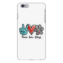 peace love dogs iPhone 6 Plus/6s Plus Case | Artistshot