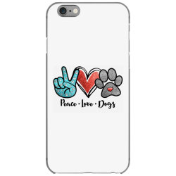 peace love dogs iPhone 6/6s Case | Artistshot