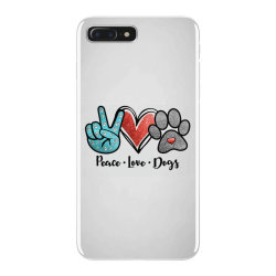 peace love dogs iPhone 7 Plus Case | Artistshot