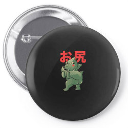 ButtZilla Cute Funny Monster Gift Pin-back button   Artistshot
