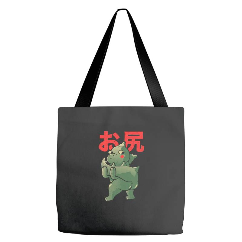 Buttzilla Cute Funny Monster Gift Tote Bags   Artistshot
