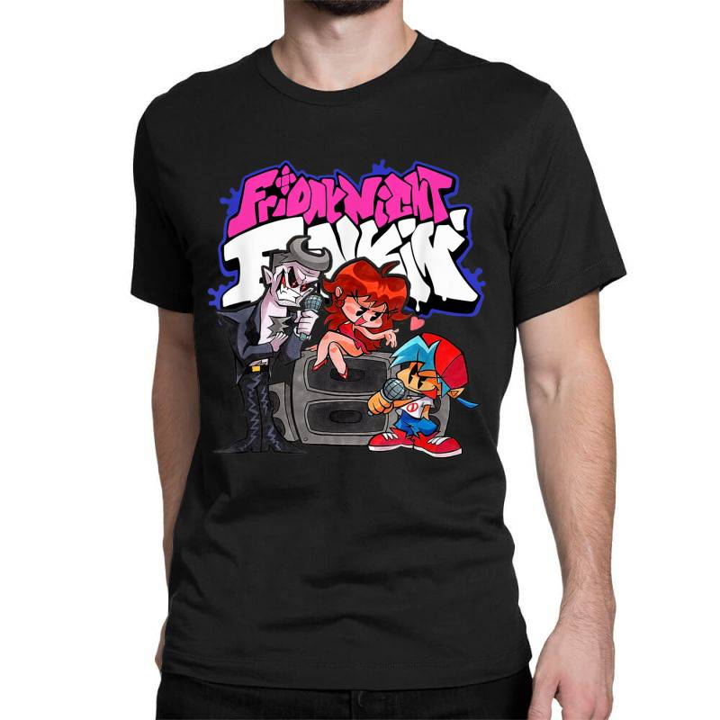 Friday Night Funkin Singing Battle T Shirt Classic T-shirt | Artistshot