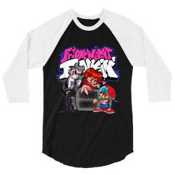 friday night funkin singing battle t shirt 3/4 Sleeve Shirt | Artistshot