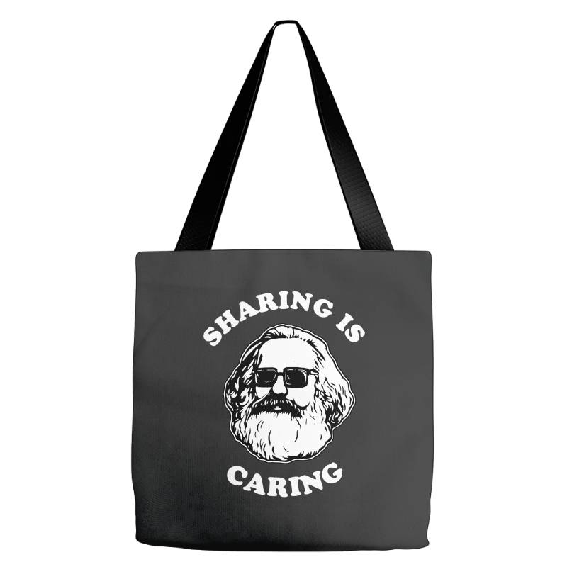 Sharing Is Caring Tote Bags | Artistshot