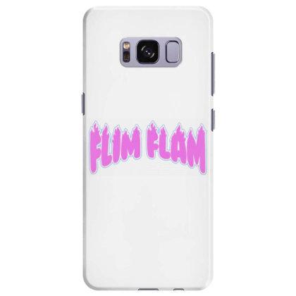 Flim Flam Flamingo Funny Samsung Galaxy S8 Plus Case Designed By Oktaviany