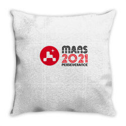 Nasa Perseverance Rover Mars 2021 Wide V4 Throw Pillow Designed By Kroos_sell