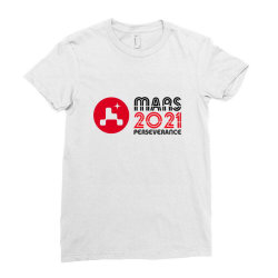 Nasa Perseverance Rover Mars 2021 Wide V4 Ladies Fitted T-shirt Designed By Kroos_sell