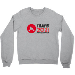 Nasa Perseverance Rover Mars 2021 Wide V4 Crewneck Sweatshirt Designed By Kroos_sell