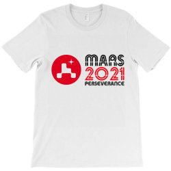 Nasa Perseverance Rover Mars 2021 Wide V4 T-shirt Designed By Kroos_sell