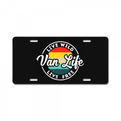 van life vêtements License Plate | Artistshot
